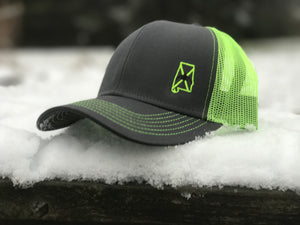 Dixie Cupped - High Visibility Green Cap