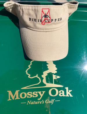 Dixie Cupped - Alabama Visor (Khaki)