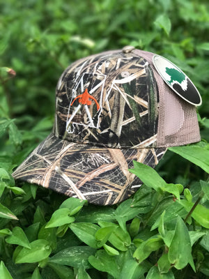 Dixie Cupped - Alabama Cap Camo mesh back