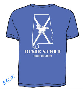 Dixie Strut - Alabama T-Shirt (Royal Blue)
