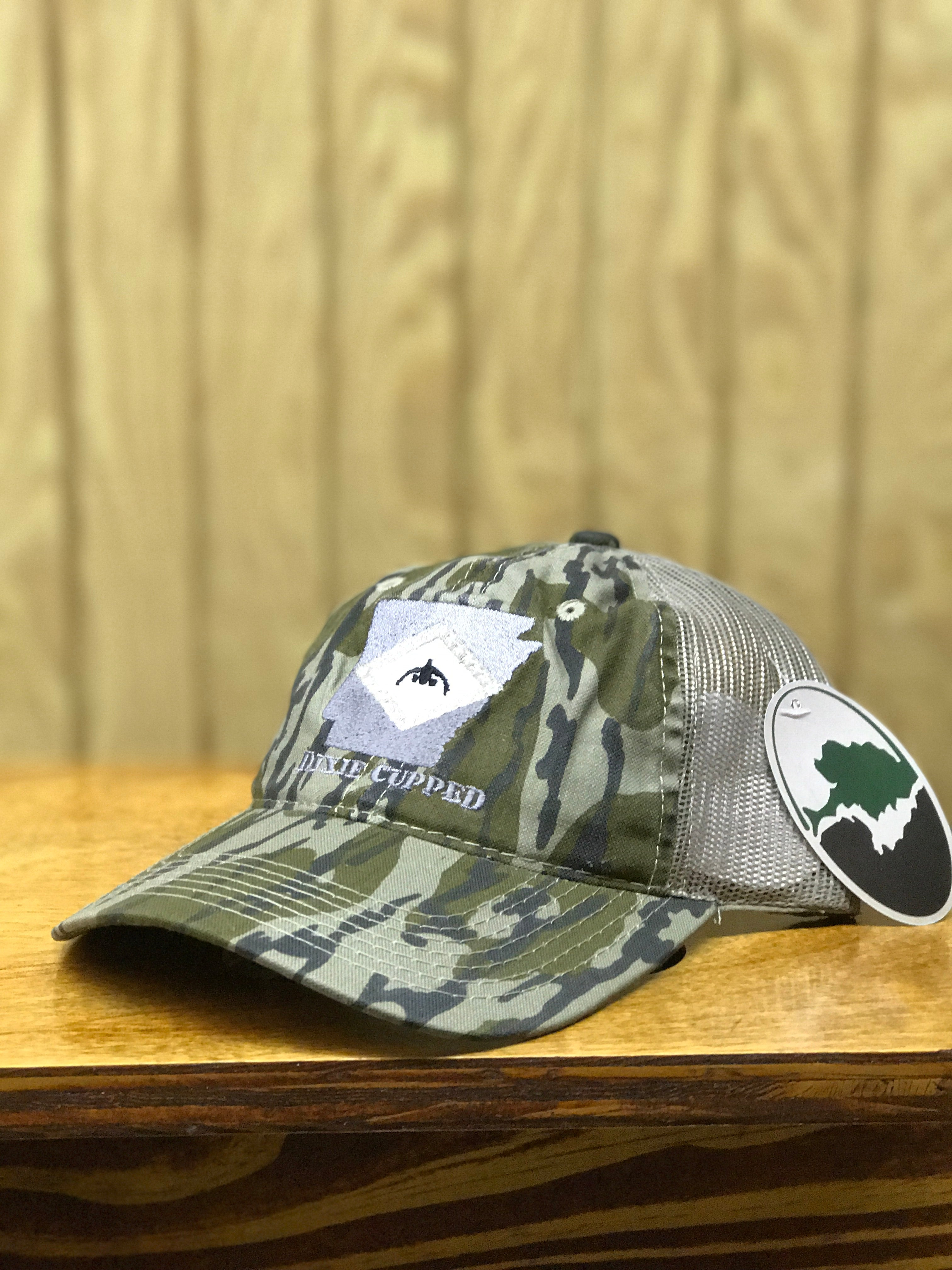 Dixie Cupped - Arkansas Cap Bottomland Meshback