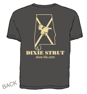 Dixie Strut - Alabama T-Shirt (Pepper)