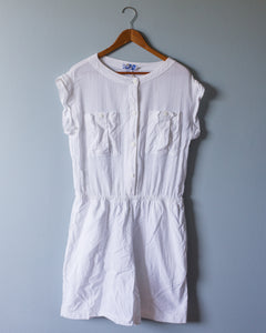 Vintage White Playsuit