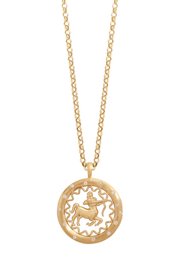 The Sagittarius Necklace