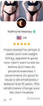 Testimonial 1 Weight Loss