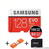 AllBestOf.com ELECTRONIC 128GB 100MBs 100% Original SAMSUNG EVO Micro SD card Class10 TF card 32gb 64gb 128gb 256gb 100Mb/s memory card for smartphone/table PC/Camera