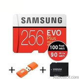 AllBestOf.com ELECTRONIC 256GB 100MBs 100% Original SAMSUNG EVO Micro SD card Class10 TF card 32gb 64gb 128gb 256gb 100Mb/s memory card for smartphone/table PC/Camera