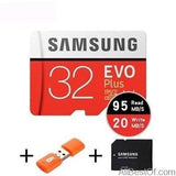 AllBestOf.com ELECTRONIC 32GB 95MBs 100% Original SAMSUNG EVO Micro SD card Class10 TF card 32gb 64gb 128gb 256gb 100Mb/s memory card for smartphone/table PC/Camera