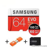 AllBestOf.com ELECTRONIC 64GB 100MBs 100% Original SAMSUNG EVO Micro SD card Class10 TF card 32gb 64gb 128gb 256gb 100Mb/s memory card for smartphone/table PC/Camera