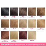 AllBestOf.com HAIR 16-24inch Tape In Hair Extension 100% Human Remy Hair #613 Color 50G/Pcs Straight Brazilian Hair 11 Colors