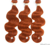 AllBestOf.com HAIR 8-24inch Pre-Colored Brazilian Human Hair Weave Body Wave #350 and 6 colors 3 Bundles