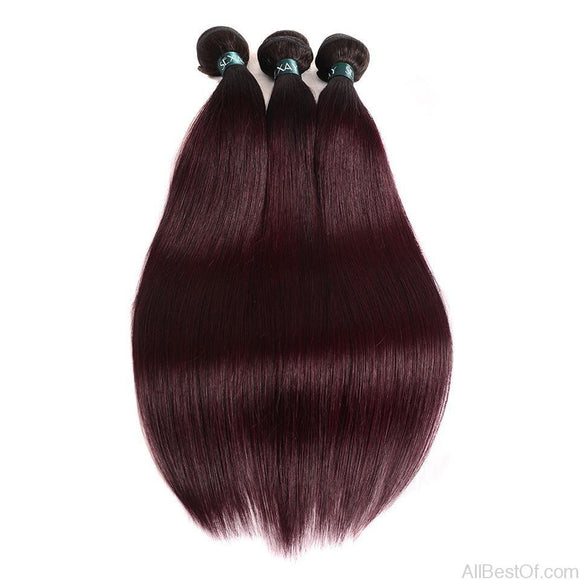 AllBestOf.com HAIR Ombre Brazilian Straight Human Hair 10-26