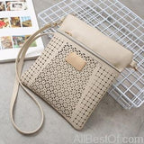 AllBestOf.com HANDBAG beige New Luxury Designer Women Handbags High Quality