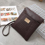 AllBestOf.com HANDBAG coffee New Luxury Designer Women Handbags High Quality