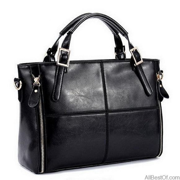 AllBestOf.com HANDBAG Luxury Brand Designer Split Leather Top-handle HandBag