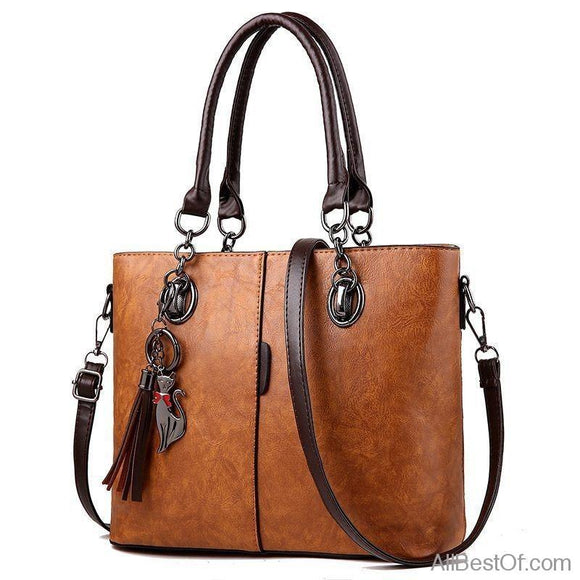 AllBestOf.com HANDBAG Luxury Designer Solid Outlet Europe Leather Handbag