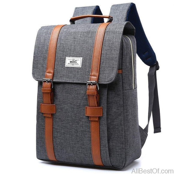 AllBestOf.com HANDBAG Vintage Canvas Backpacks School for Teenagers Large Capacity Laptop