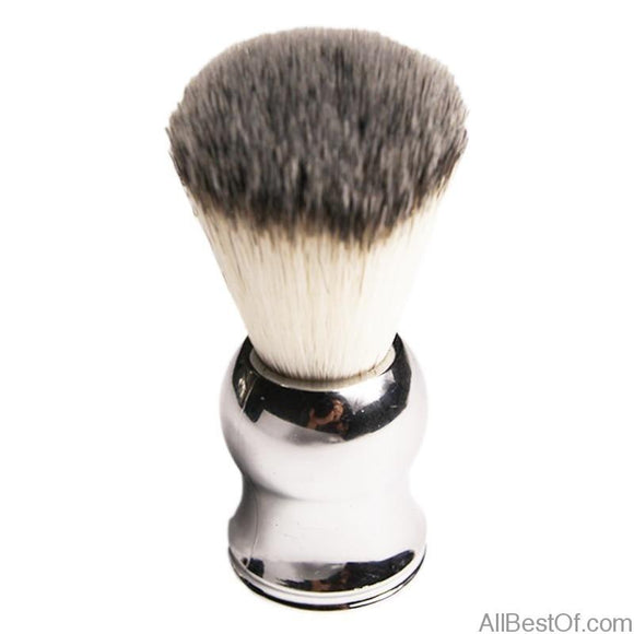 AllBestOf.com HEALTH & BEAUTY China Pure Badger Hair Shaving Brush Shave Beard Brushes Plating Handle As a Gift for Dad and Boyfriend