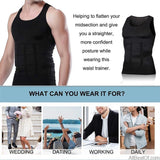 AllBestOf.com HEALTH & BEAUTY Men Slimming Body Shaper Tummy Shaper Underwear Corset Waist Muscle Girdle Shirt