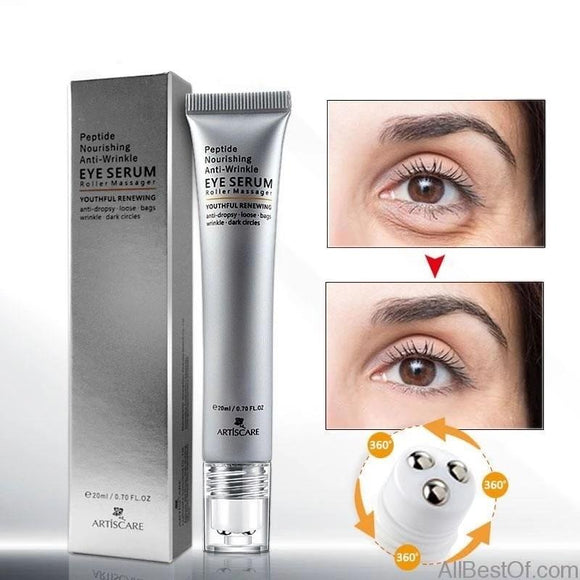 AllBestOf.com HEALTH & BEAUTY Peptide Anti Wrinkles Eye Serum Roller Massager Eye Skin Care Anti Puffiness Fine Lines Dark Circles
