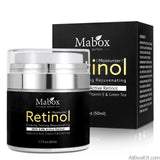 AllBestOf.com HEALTH & BEAUTY Retinol 2.5% Moisturizer Face Cream Anti Aging Acne Hyaluronic Acid Vitamin E and Green Tea Skin Whitening Cream