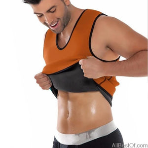AllBestOf.com HEALTH & BEAUTY Slimming Belly Men Body Shaper Abdomen Fat Burning Shaperwear