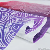 AllBestOf.com HEALTH & BEAUTY Yoga Towel Diamond Texture Non Slip Yoga Mat Cover Pilates Fitness Yoga Blanket