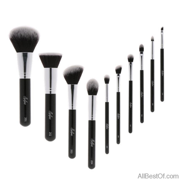 Professional makeup brush set high quality 10pcs - AllBestOf.com