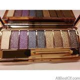 AllBestOf.com MAKEUP 2 Fashion Matte Eyeshadow Palette 9 Colors Makeup Set Cosmetics Tools