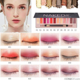 Branded Cosmetic Makeup Glitter Shimmer Matte Eye Shadow Palette 12 Colors - AllBestOf.com