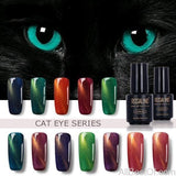 Cat Eye Series Nail Polish Nail Art Gel Soak Off Semi Vernis Permanant gel - AllBestOf.com