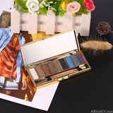AllBestOf.com MAKEUP Fashion Matte Eyeshadow Palette 9 Colors Makeup Set Cosmetics Tools