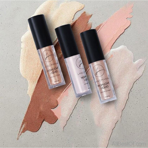 Makeup Face Glow Liquid Highlighter Contouring Makeup Face Brightener Concealer Primer Base Bronzer - AllBestOf.com