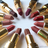 AllBestOf.com MAKEUP Moisturizer Lips Smooth Long Lasting Charming Lipstick Cosmetic Beauty Makeup 12 Colors