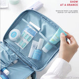 Neceser Zipper Makeup bag Neceseries Cosmetic bag dot beauty Case Make Up Tas Makeup Sets Organizer Storage Travel Wash cosmetic - AllBestOf.com