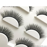 AllBestOf.com MAKEUP New 3 pairs false eyelashes long makeup 3D mink lashes extension for beauty