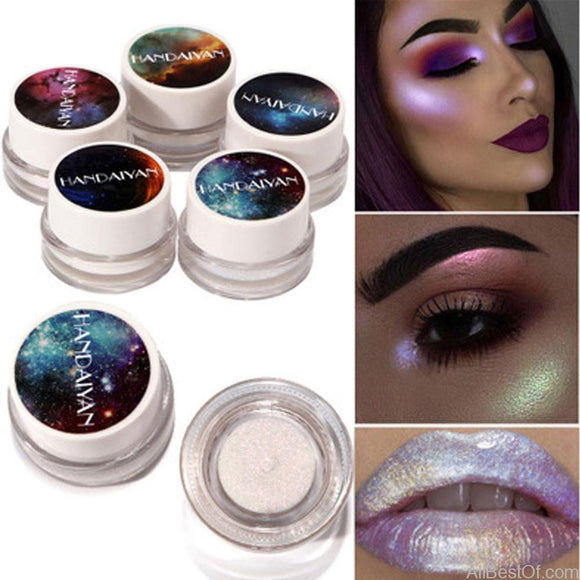 New 5 Colors Makeup Glitter 1 Box Multifunctional Highlight Powder Eyeshadow Cosmetic - AllBestOf.com