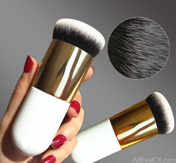 New Chubby Pier Foundation Brush Makeup Professional Cosmetic - AllBestOf.com
