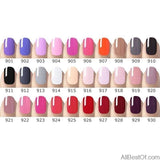 New Nail Art Design 60 Colors Soak Off UV Gel Paint Lacquer Nail Polish UV Nail Varnish Gel - AllBestOf.com