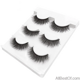 AllBestOf.com MAKEUP X07 New 3 pairs false eyelashes long makeup 3D mink lashes extension for beauty