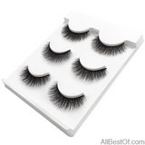 AllBestOf.com MAKEUP X23 New 3 pairs false eyelashes long makeup 3D mink lashes extension for beauty