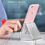 Aluminum Metal Mobile Phone Holder For iPhone Samsung iPad - AllBestOf.com