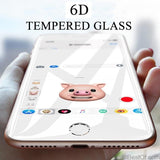 AllBestOf.com Phone Full Cover 6D Edge Tempered Glass For iPhone X XS 8 7 6 6s Plus Screen Protector