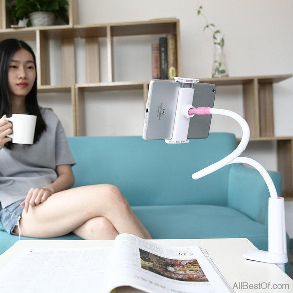 Phone Holder Stand For iPhone iPad Desk Tablet PC Stands Support Mobile Phone Holder - AllBestOf.com