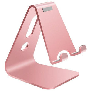 Mobile Phone Holder Stand Aluminium Tablet Stand Universal Holder for iPhone X/8/7/6/5 Plus Samsung Phone/ipad - AllBestOf.com