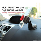 UNIVERSAL CAR PHONE HOLDER SUCKER WINDSHIELD DESK MOUNT 360 DEGREE ROTATION - AllBestOf.com