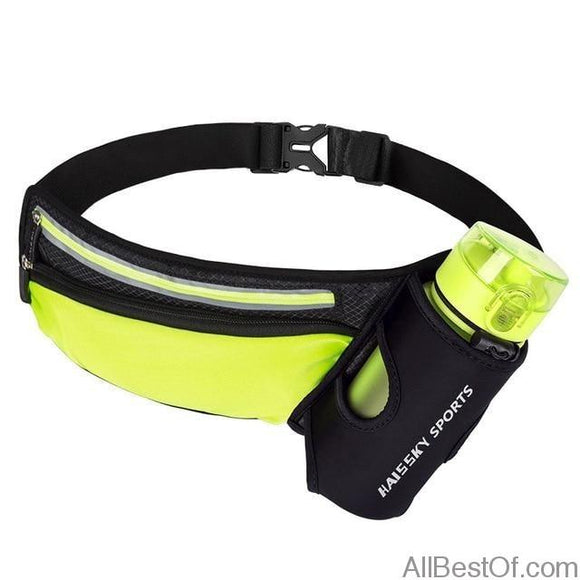 AllBestOf.com SPORT as picture showed 2 Waist Bag running Sports Lightweight Water Bottle pack