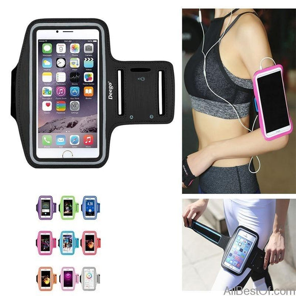 AllBestOf.com SPORT New Running Bags Armbands Touch Screen Phone Case Sports for iPhone and Androïd