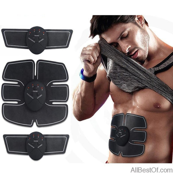 AllBestOf.com SPORT Wireless Muscle Stimulator Trainer Smart Fitness Abdominal Training Unisex