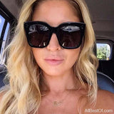 AllBestOf.com SUNGLASSES Fashion Square Sunglasses Designer Luxury UV400